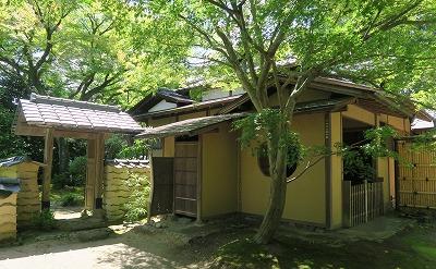 松永記念館「老欅荘」