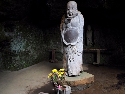 元気のもらえる七福神~浄智寺の布袋さん