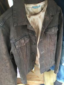 渋い風合いなったジャケット
