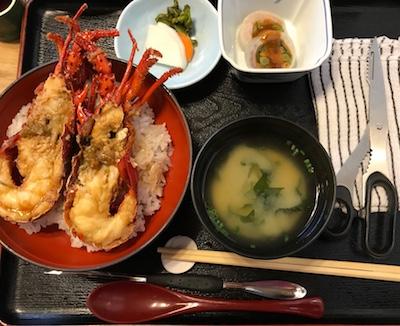 江ノ島・磯料理仙水で絶品!伊勢エビ丼を食べてみました!