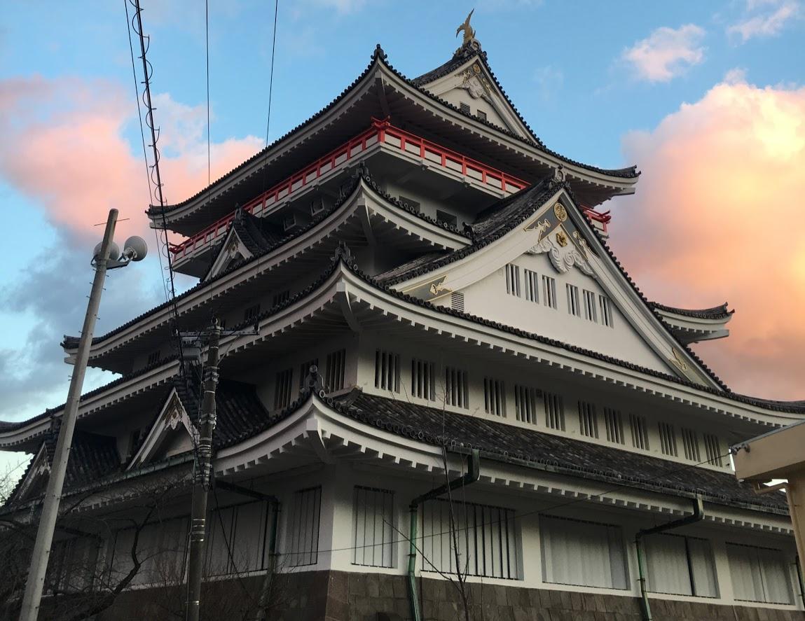 この冬一番熱い城 熱海城へいざ!!