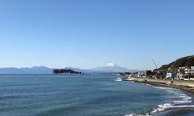 江ノ島と富士山が一緒に見られる絶景3ポイント