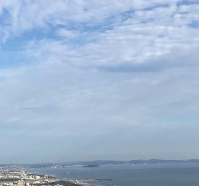 湘南平からの江ノ島