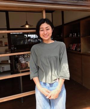 KAMOSU店主の早田のりこさん