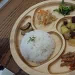 ホンモノ野菜のキッズプレート(スープ・キッズドリンク付き) 750円☆