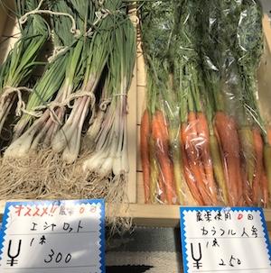 農薬使用0回の野菜がそろうマルシェ@Nature Ferme