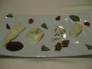サクラチーズの盛り合わせ