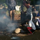 たき火、どろんこOK、禁止のない子どもの遊び場が朝霞に