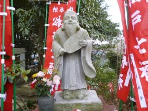 松戸七福神・寿老人