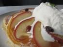 焼きリンゴのパンケーキ