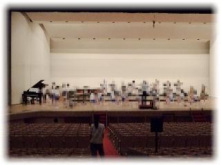 文化会館大ホール、ステージ