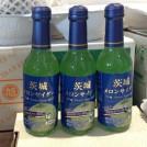 今、話題のご当地サイダー「茨城メロンサイダー」茨城県鉾田市産メロンを使用!!