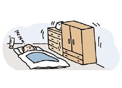 家具の転倒防止器具の取り付けを代行します! 先着500件