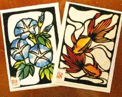2つ折りカード