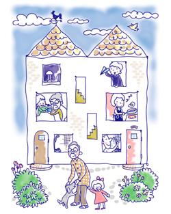 親も子も満足する二世帯住宅作りのコツとは?
