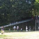 バーベキューができる、長~い滑り台に子どもは夢中「内牧公園」にGO