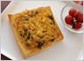 お野菜と卵のくり抜き食パン
