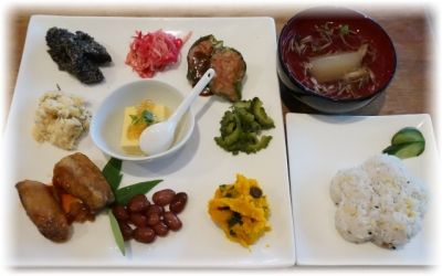 大皿の御惣菜メニュー
