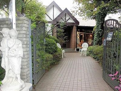 一軒家フレンチ'猫の手'という名の、庭とアートを楽しめる 「パッ・ド・シャー」