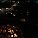 一夜限りの幻想的な光と音、利根運河シアターナイト、カフェも
