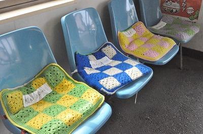 これからの寒い季節手づくり座布団が嬉しい
