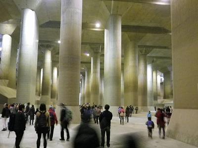 11/16(土)・17(日)首都圏外郭放水路特別見学会 地下見学のほか祭りも
