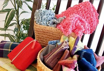12/8(土)・9(日)「ひまわりフェア」手織り製品の販売や機織り体験もできる
