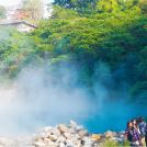 台湾の温泉で癒やしの時間