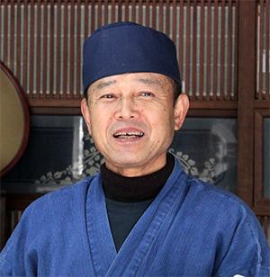 和菓子司清水屋店主石井憲光さん