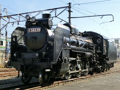 蒸気機関車「C58239」が大宮で復活!「SL銀河」となって東北へ元気を届けます