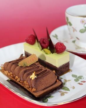 田園のバレンタイン2014 人気のケーキショップのチョコレートケーキ!