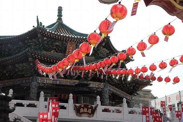 中華街はもうすぐ「春節」