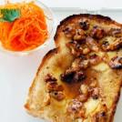 クリームチーズと蜂蜜トースト