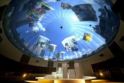 柏の葉スマートシティミュージアムで未来の暮らしを体感、触れる地球儀も