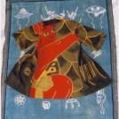 """古い布を""""一生もの""""にする華麗なリメイク術 「刺子展」"""