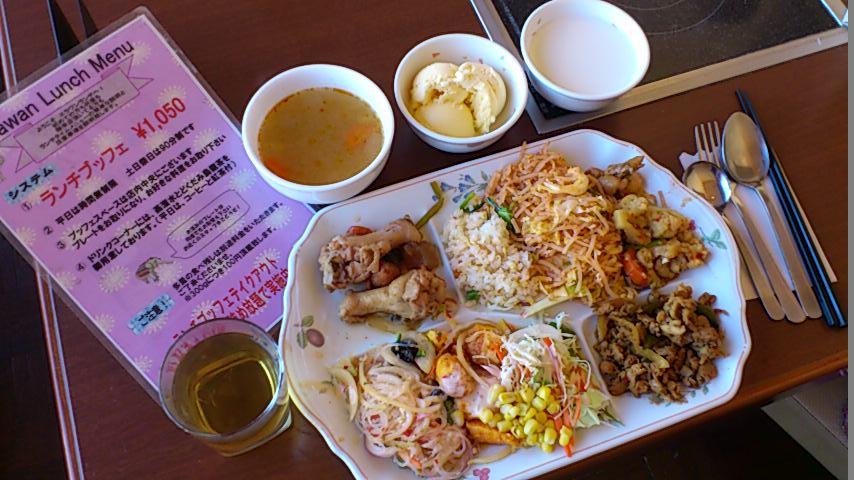 千円台でお腹一杯@新宿~タイ料理「エラワン」新宿靖国通り店