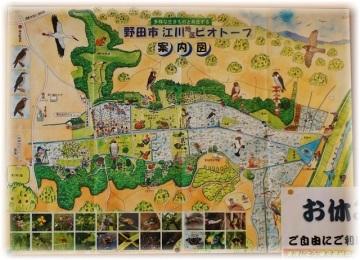 市内のビオトープマップ