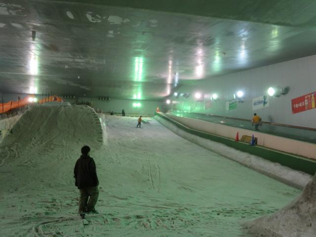 オリンピック効果?!スノーヴァ溝の口でスノーボードデビュー!