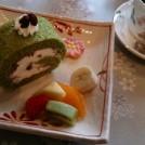 隠れ家カフェで季節の花を見ながらお茶しませんか?