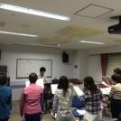 町田周辺で午前中に練習しているゴスペルグループ!