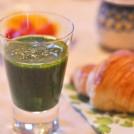 小松菜とキウイのスープ 【時短朝食レシピ】