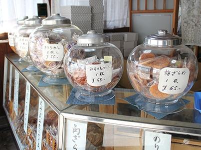 大正煎餅 木川商店 我孫子のココでしか買えないお土産を