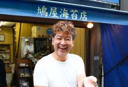 鳩屋海苔店 鵜飼友義さん