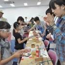 青少年のための科学の祭典  県民の日イベントも一緒に