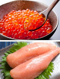 魚卵は、新鮮さやおいしさを見極めるのにちょっとしたコツが必要
