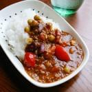 ビーンズとトマトの目覚ましカレー 【時短朝食レシピ】