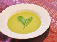 ルッコラのミルクスープ 【時短朝食レシピ】