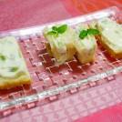 クリームチーズ風味の季節のフルーツサンド 【時短朝食レシピ】