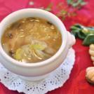 マッシュルームとねぎのスープ 【時短朝食レシピ】