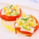 トマトのもちピザ 【時短朝食レシピ】